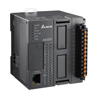 Sterownik PLC AS300 8 wejść/12 wyjść NPN Delta Electronics AS320T-B