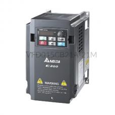 Falownik 1-fazowy 1,5 kW 230VAC Delta Electronics VFD015CB21A-21M