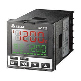 DT320LA-R200 - Regulator temperatury PID 48x48 mm Delta Electronics 100...240 VAC