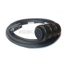 Kabel do enkodera ASDBCAEN1003 Delta Electronics 3 m