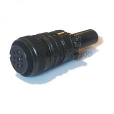 Militarna wtyczka mocy do zarobienia ASDBCAPW0100 Delta Electronics