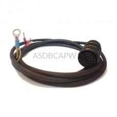 Kabel zasilający ASDBCAPW1205 Delta Electronics 5 m