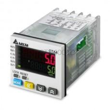 Delta Electronics CTA4001D 21,6...26,4V DC licznik impulsów, przekaźnik czasowy, tachometr