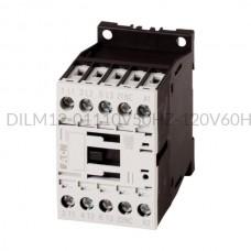 Stycznik DILM12-01(110V50HZ,120V60HZ) 5,5 kW 3P 110V AC 1Z 0R Eaton 276862