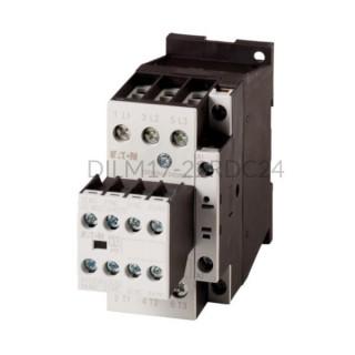 Stycznik DILM17-22(RDC24) 7,5 kW 3P 24V DC 2Z 2R Eaton 106371
