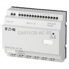 Moduł 12 wejść i 6 wyjść cyfrowych Eaton EASY618-AC-RE