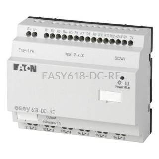 Moduł 12 wejść i 6 wyjść cyfrowych Eaton EASY618-DC-RE