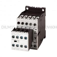 Stycznik DILM15-22(230V50HZ,240V60HZ) 7,5 kW 3P 230V AC 2Z 2R Eaton 106363