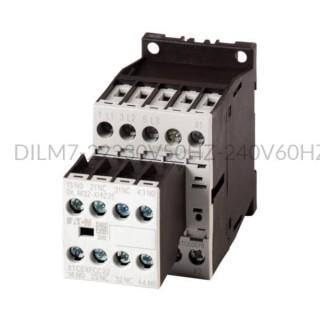 Stycznik DILM7-22(230V50HZ,240V60HZ) 3 kW 3P 230V AC 2Z 2R Eaton 106360