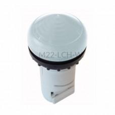 Główka lampki sygnalizacyjnej Eaton RMQ TITAN M22-LCH-W biała 216914