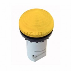 Główka lampki sygnalizacyjnej Eaton RMQ TITAN M22-LCH-Y żółta 216917