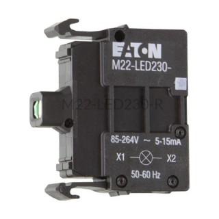 Dioda LED czerwona M22-LED230-R Eaton 216564