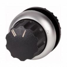 Przełącznik obrotowy M22-WR-X92 czarny Eaton RMQ-Titan 216857
