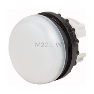 Główka lampki sygnalizacyjnej Eaton RMQ TITAN M22-L-W biała 216771