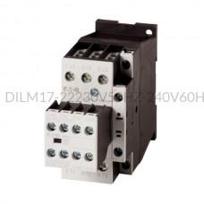 Stycznik DILM17-22(230V50HZ,240V60HZ) 7,5 kW 3P 230V AC 2Z 2R Eaton 106364
