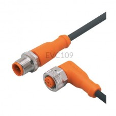 Przewód łączeniowy męsko-żeński bezhalogenowy 10 m M12 Ifm Electronic EVC109