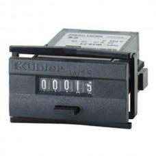 Elektromechaniczny licznik impulsów Kubler 1,5...185V DC / 12...230V AC W15