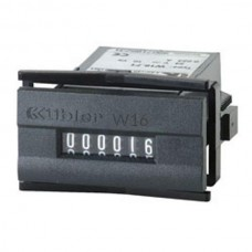 Elektromechaniczny licznik impulsów Kubler 1,5...24V DC / 12...230V AC W16