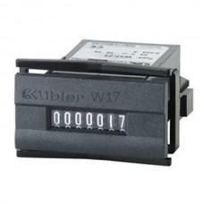 Elektromechaniczny licznik impulsów Kubler 1,5...185V DC / 12...230V AC W17