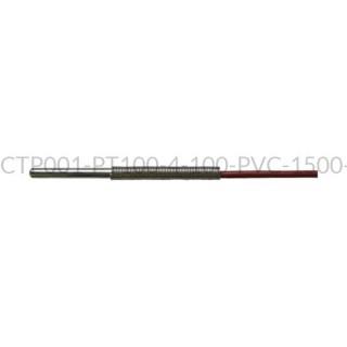 Kablowy czujnik temperatury PT100 AS1-CTP001-PT100-4-100-PVC-1500-A-3