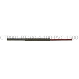 Kablowy czujnik temperatury PT100 AS1-CTP001-PT100-4-100-PVC-1500-A-4