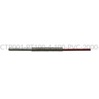 Kablowy czujnik temperatury PT100 AS1-CTP001-PT100-4-100-PVC-2000-B-2