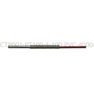 Kablowy czujnik temperatury PT100 AS1-CTP001-PT100-4-100-PVC-4000-A-4
