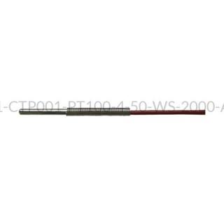 Kablowy czujnik temperatury PT100 AS1-CTP001-PT100-4-50-WS-2000-A-4