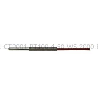 Kablowy czujnik temperatury PT100 AS1-CTP001-PT100-4-50-WS-2000-B-2