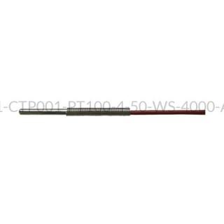 Kablowy czujnik temperatury PT100 AS1-CTP001-PT100-4-50-WS-4000-A-4
