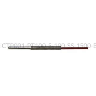 Kablowy czujnik temperatury PT100 AS1-CTP001-PT100-5-100-SS-1500-B-4