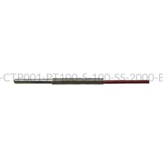 Kablowy czujnik temperatury PT100 AS1-CTP001-PT100-5-100-SS-2000-B-2