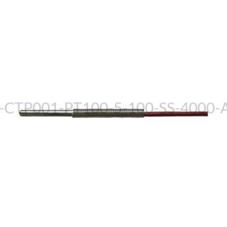 Kablowy czujnik temperatury PT100 AS1-CTP001-PT100-5-100-SS-4000-A-2