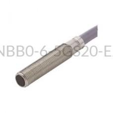 Czujnik indukcyjny Pepperl+Fuchs 0,6mm 10...30VDC M5 PNP NBB0,6-5GS20-E2 265893