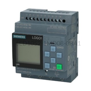 Sterownik PLC 6ED1052-1MD08-0BA1 LOGO! 8.3 12/24RCE Siemens
