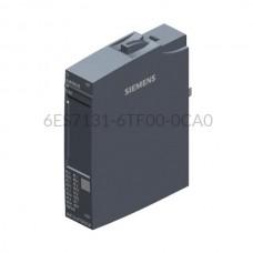 Moduł 8 wejść binarnych 6ES7131-6TF00-0CA0 SIMATIC ET 200SP Siemens