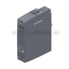 Moduł 4 wyjść binarnych 6ES7132-6BD20-0CA0 SIMATIC ET 200SP Siemens