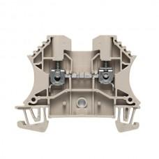 Złączka szynowa przelotowa WDU 2.5 Weidmuller beżowa 24A 800V 1020000000