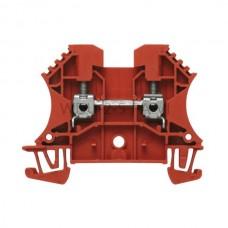 Złączka szynowa przelotowa WDU 2.5 PA/VI Weidmuller fioletowa 24A 800V 1037700000