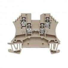 Złączka szynowa przelotowa WDU 1.5/ZZ Weidmuller beżowa 17,5A 800V 1031400000
