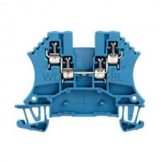 Złączka szynowa przelotowa WDU 1.5/ZZ BL Weidmuller niebieska 17,5A 800V 1031480000
