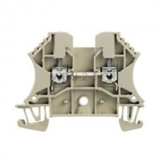 Złączka szynowa przelotowa WDU 2.5 GR Weidmuller szara 24A 800V 1037720000