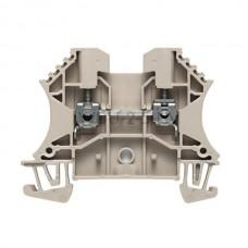 Złączka szynowa przelotowa WDU 2.5 HV Weidmuller beżowa 24A 1000V 1412950000