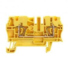 ZDU 2.5 GE Weidmuller żółty 24A 800V 1683270000