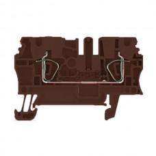 ZDU 2.5 BR Weidmuller brązowy 24A 800V 1683300000