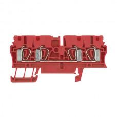 ZDU 2.5 /4AN RT Weidmuller czerwony 24A 800V 1683420000