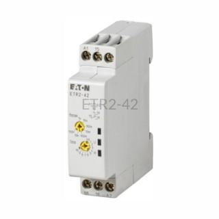 Przekaźnik czasowy Eaton ETR2-42 24...240V AC / 24...240V DC 0,05s...100h