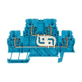 Złączka szynowa dwutorowa ZDK 1.5V BL Weidmuller niebieska 17,5A 500V 1791140000