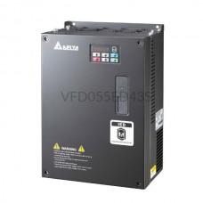 Falownik 5,5kW 400VAC Delta Electronics VFD055ED43S