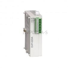 Moduł 2 wyjść analogowych DVP02DA-S Delta Electronics